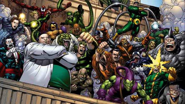 Spider-Man, Hydro man, Goblin, Scarabeo, Stan Lee