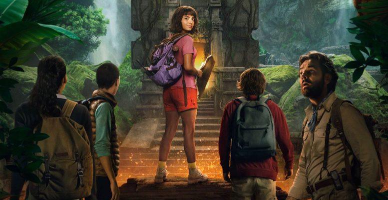 Dora l'esploratrice, Boots, Benicio del toro, Swiper la volpe, zainetto