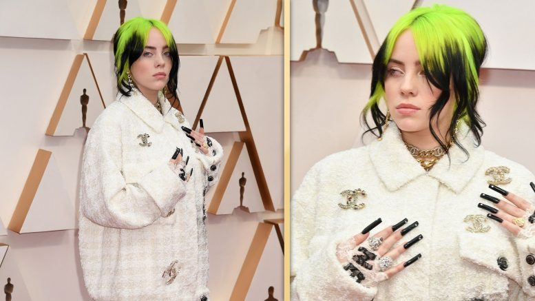Billie Eilish Oscar 2020, red carpet Academy Awards 2020