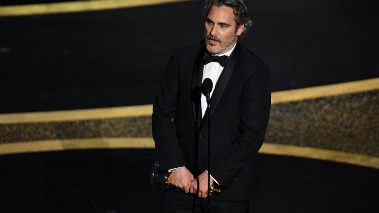 Joaquin Phoenix, Joker, Parasite, Brad Pitt