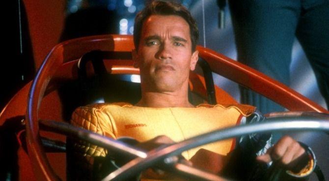 Arnold Schwarzenegger, Stephen King, L'uomo in fuga